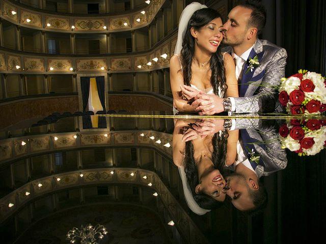 le nozze di Martina e Fabio