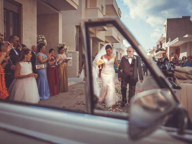 Il matrimonio di Eziano e Daniela a Carovigno, Brindisi 16