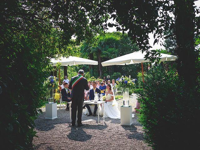 Il matrimonio di Mathieu e Ilaria a Gattico, Novara 30