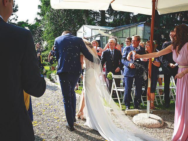 Il matrimonio di Mathieu e Ilaria a Gattico, Novara 40