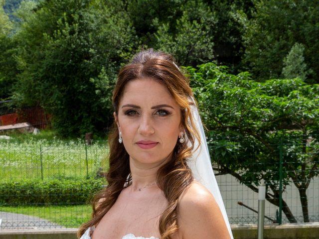 Il matrimonio di Fabrizio e Daniela a Valsolda, Como 4