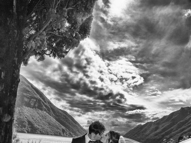 Il matrimonio di Fabrizio e Daniela a Valsolda, Como 7