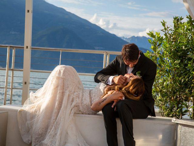 Il matrimonio di Fabrizio e Daniela a Valsolda, Como 11