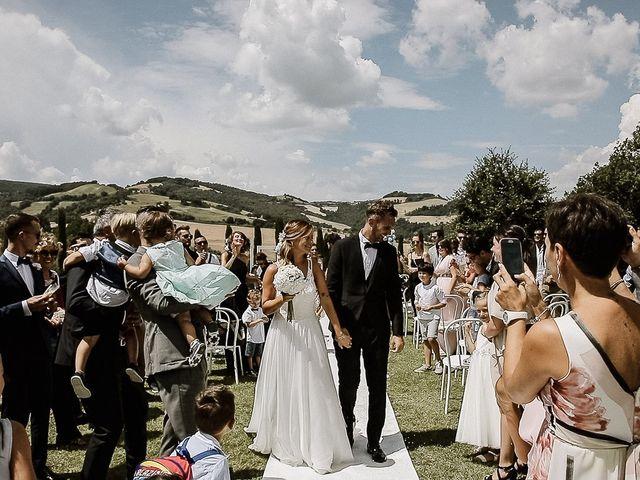 Il matrimonio di Alice e Claudio a Fossombrone, Pesaro - Urbino 68