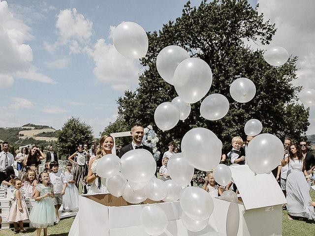 Il matrimonio di Alice e Claudio a Fossombrone, Pesaro - Urbino 69