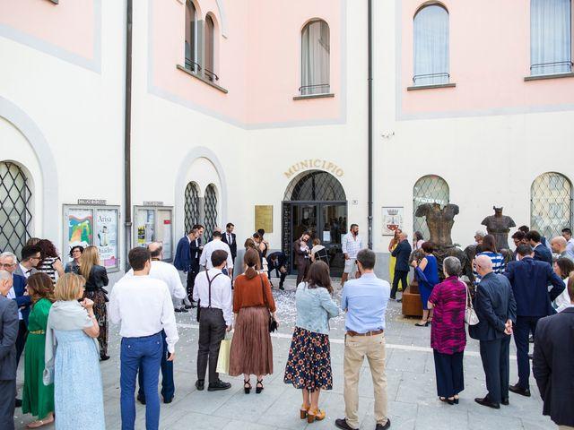 Il matrimonio di Federico e Alessandra a Chiari, Brescia 25
