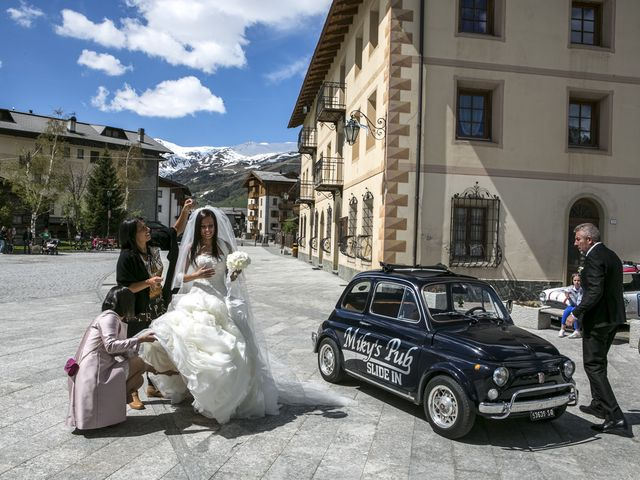 Il matrimonio di Silvia e Michele a Livigno, Sondrio 20