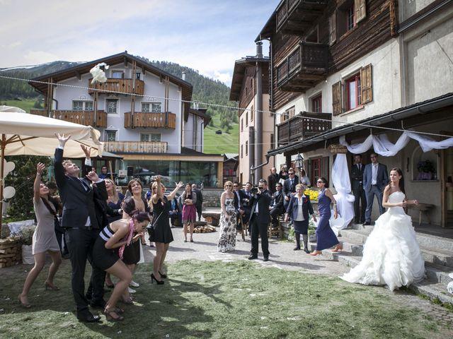 Il matrimonio di Silvia e Michele a Livigno, Sondrio 35