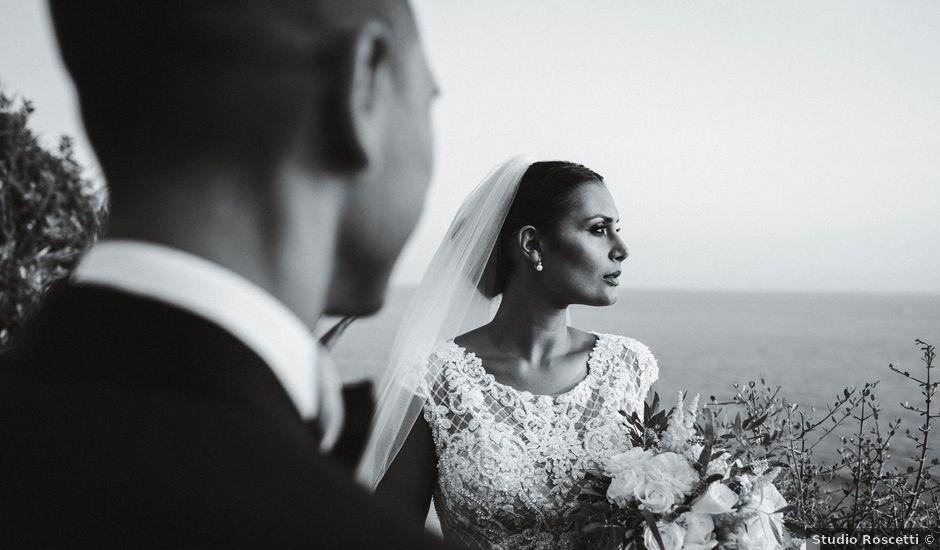 Il matrimonio di Alberto e Miriam a Santa Marinella, Roma