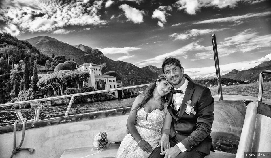 Il matrimonio di Fabrizio e Daniela a Valsolda, Como