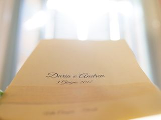 Le nozze di Daria e Andrea 1