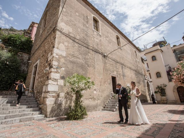 Il matrimonio di Maciek e Paulina a Taormina, Messina 16