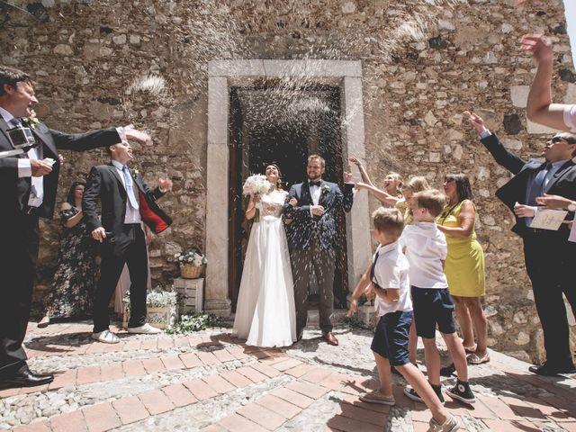 Il matrimonio di Maciek e Paulina a Taormina, Messina 24