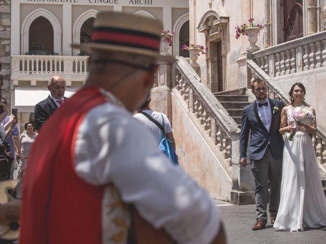 Il matrimonio di Maciek e Paulina a Taormina, Messina 28