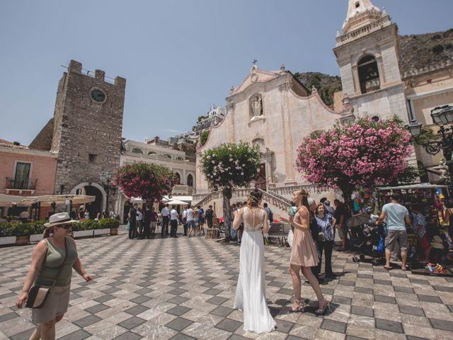 Il matrimonio di Maciek e Paulina a Taormina, Messina 29