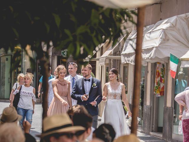 Il matrimonio di Maciek e Paulina a Taormina, Messina 34