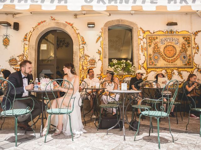 Il matrimonio di Maciek e Paulina a Taormina, Messina 35