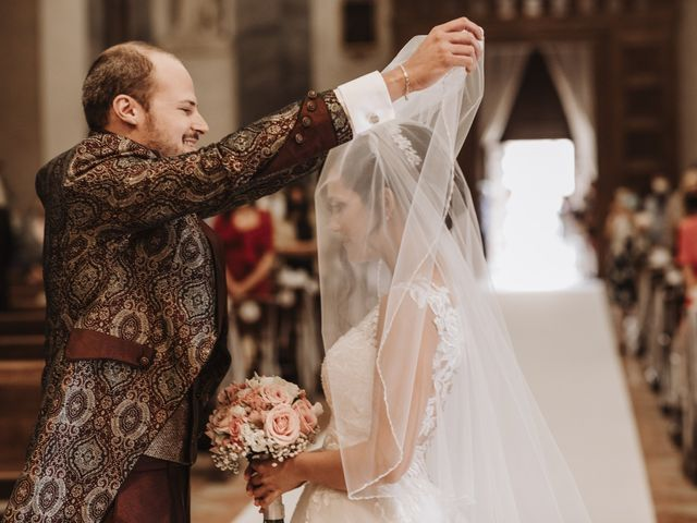 Il matrimonio di Nicola e Monica a Pescantina, Verona 20