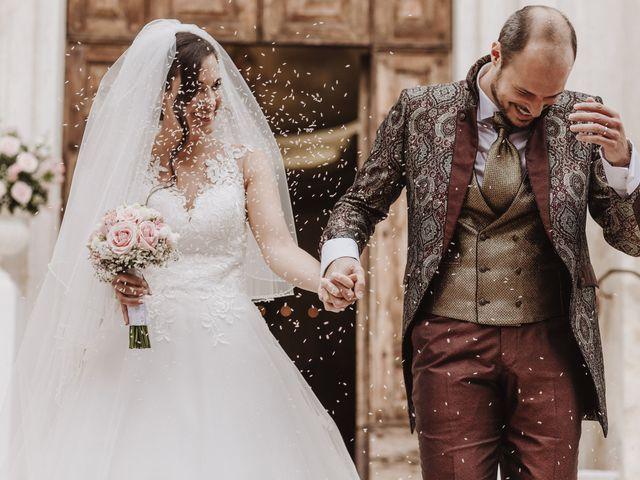 Il matrimonio di Nicola e Monica a Pescantina, Verona 22