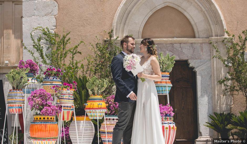 Il matrimonio di Maciek e Paulina a Taormina, Messina