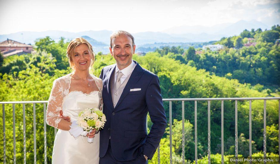 Il matrimonio di Giulio e Chiara a Monteviale, Vicenza