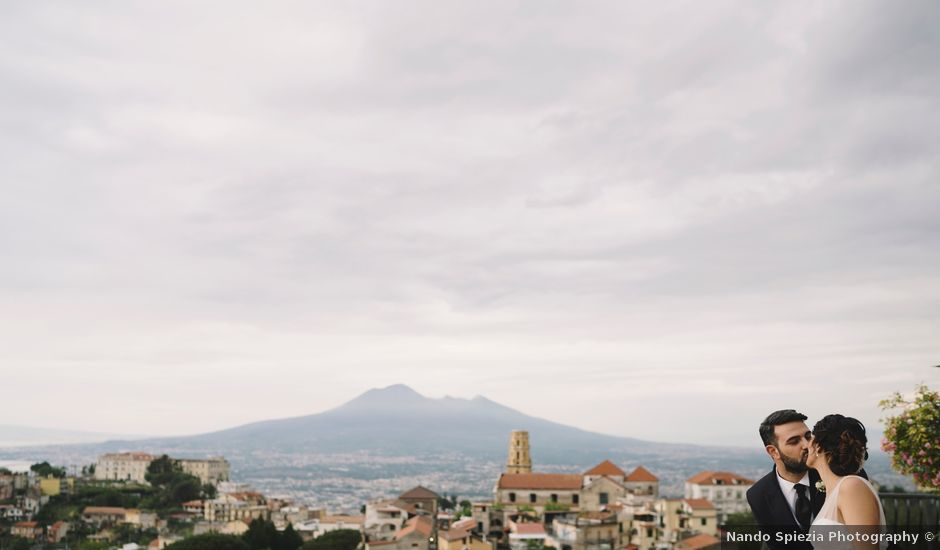 Il matrimonio di Domenico e Annapaola a Lettere, Napoli