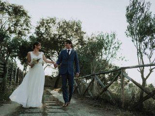 Le nozze di Roberta e Cyril