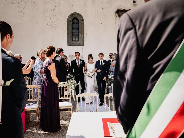 Il matrimonio di Alexander e Elisabeth a Greve in Chianti, Firenze 15