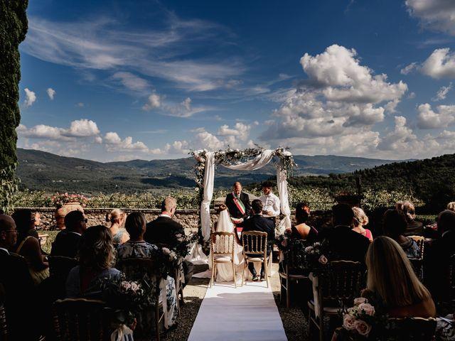 Il matrimonio di Alexander e Elisabeth a Greve in Chianti, Firenze 16