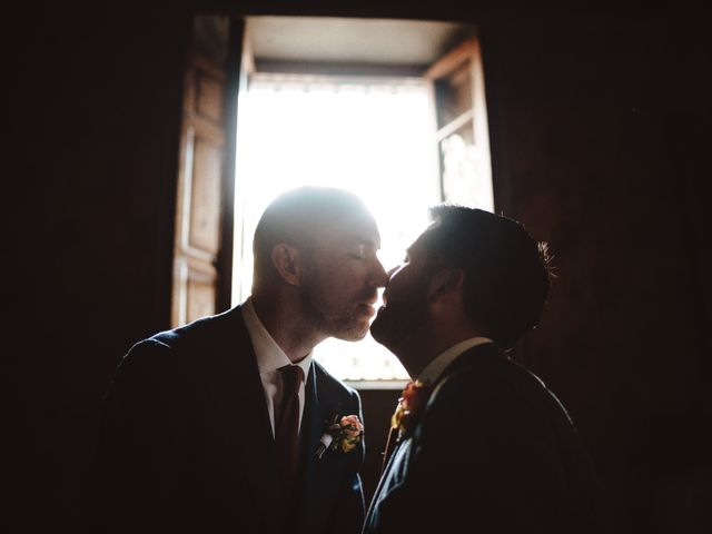 Il matrimonio di Joey e John a Poggibonsi, Siena 22
