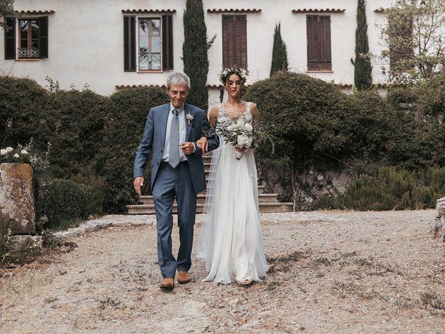 Il matrimonio di Antoine e Sarah a Magliano in Toscana, Grosseto 61
