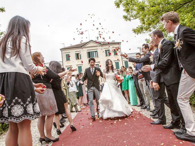 Le nozze di Fabiana e Kohei