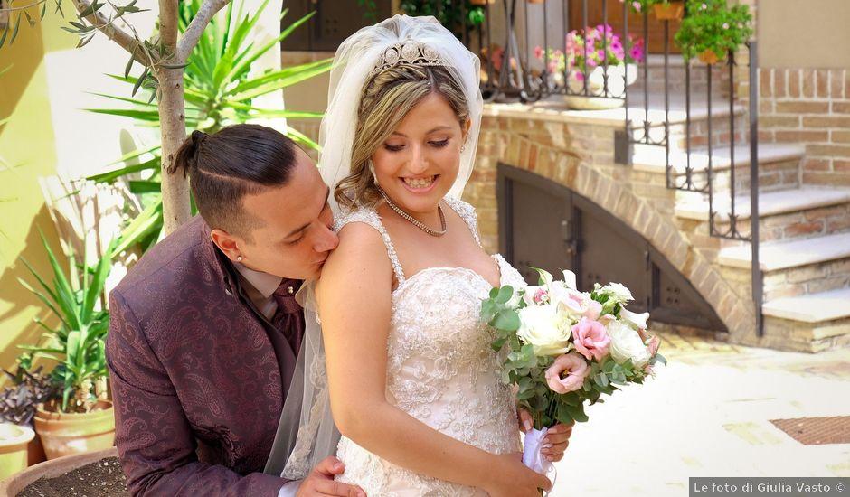 Il matrimonio di Anthony e Veronica a Vasto, Chieti