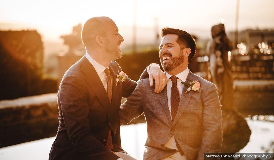 Il matrimonio di Joey e John a Poggibonsi, Siena