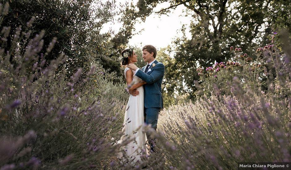 Il matrimonio di Antoine e Sarah a Magliano in Toscana, Grosseto