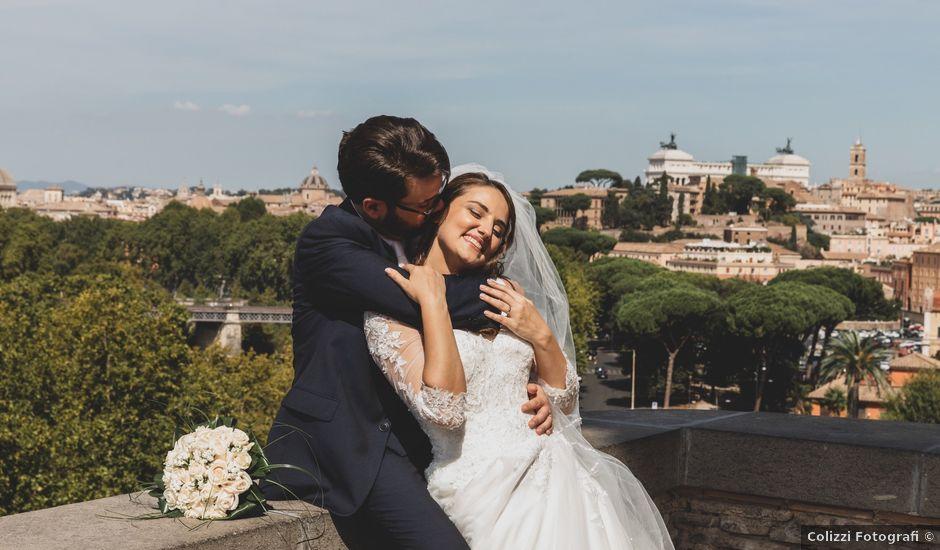 Il matrimonio di Alessio e Maria a Roma, Roma