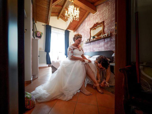 Il matrimonio di Andrea e Giulia a Mortara, Pavia 23