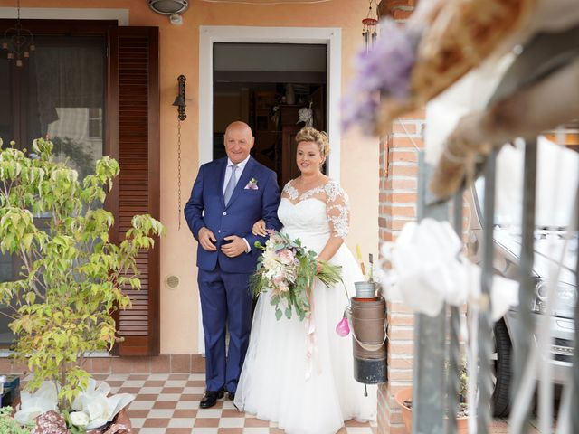 Il matrimonio di Andrea e Giulia a Mortara, Pavia 32