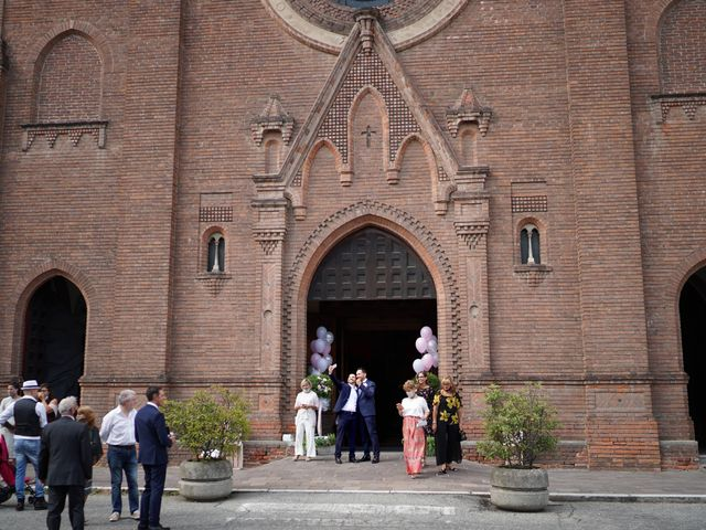 Il matrimonio di Andrea e Giulia a Mortara, Pavia 35