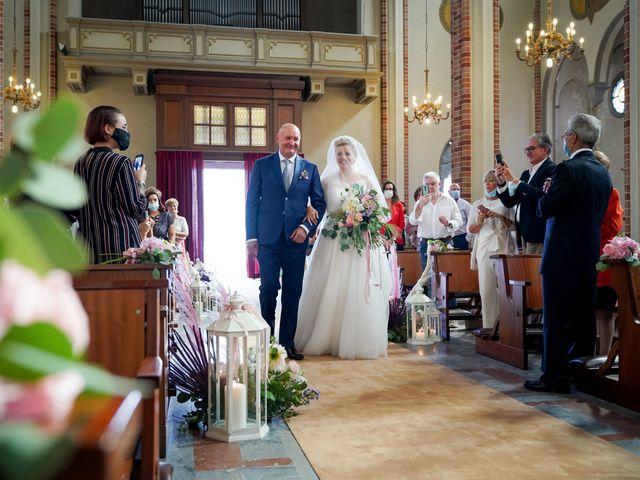 Il matrimonio di Andrea e Giulia a Mortara, Pavia 42