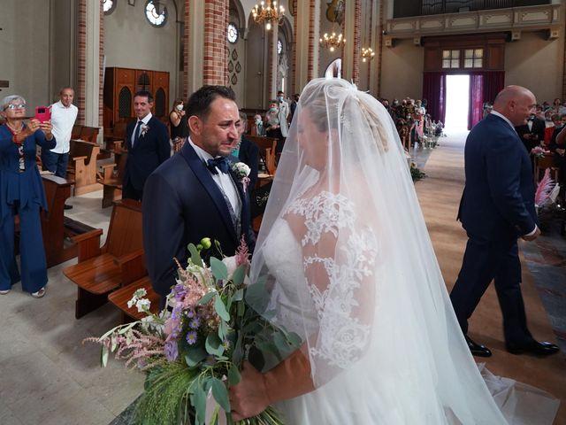 Il matrimonio di Andrea e Giulia a Mortara, Pavia 45