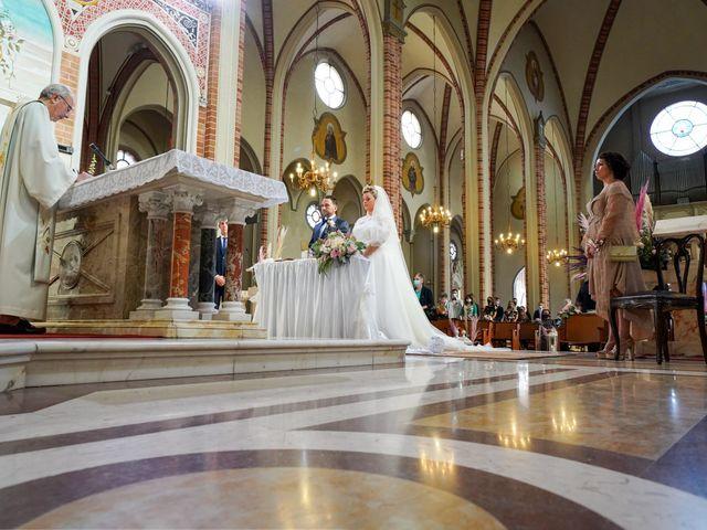 Il matrimonio di Andrea e Giulia a Mortara, Pavia 47