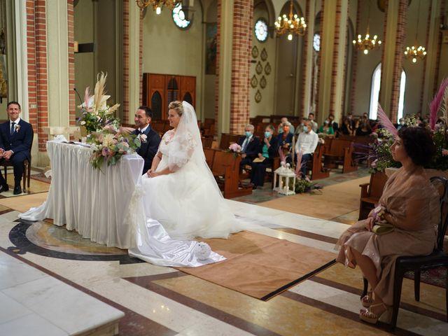 Il matrimonio di Andrea e Giulia a Mortara, Pavia 50