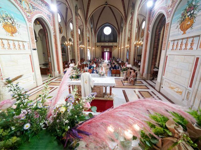 Il matrimonio di Andrea e Giulia a Mortara, Pavia 51