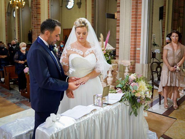 Il matrimonio di Andrea e Giulia a Mortara, Pavia 55