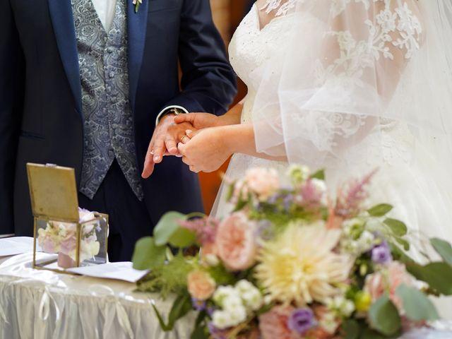Il matrimonio di Andrea e Giulia a Mortara, Pavia 56
