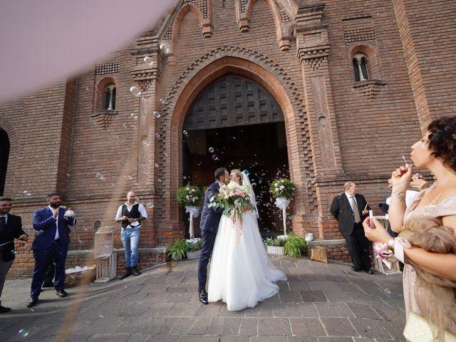 Il matrimonio di Andrea e Giulia a Mortara, Pavia 60