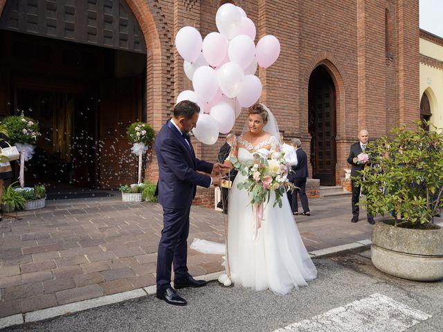 Il matrimonio di Andrea e Giulia a Mortara, Pavia 63