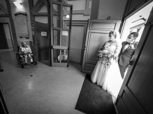 Il matrimonio di Andrea e Giulia a Mortara, Pavia 67