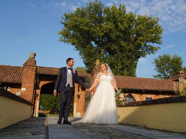 Il matrimonio di Andrea e Giulia a Mortara, Pavia 74